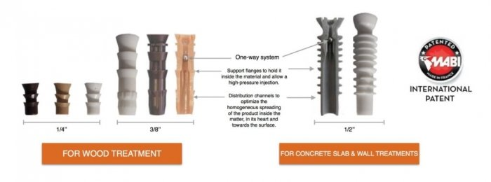 Roy Uses MABI Injectors and he is satisfied!  Termite Control Equipment That Improves Quality